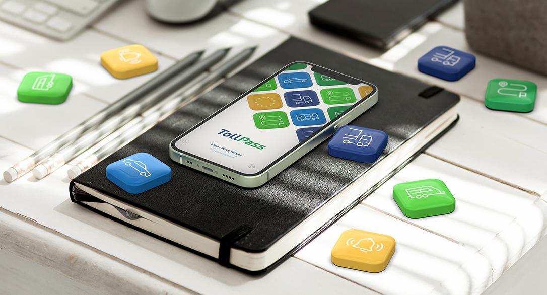 TollPass App с нови функционалности за винетки и маршрутни карти